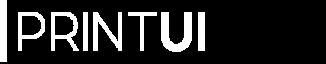 PrintUI Logo White